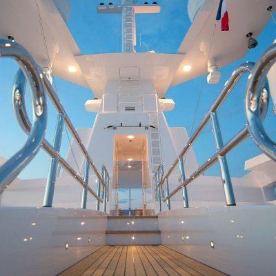 L'éclairage aquatique des yachts d'Orsteel Light