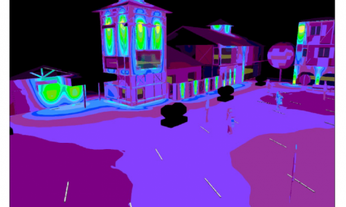 Vision 3D pour les luminaires ORSTEEL Light