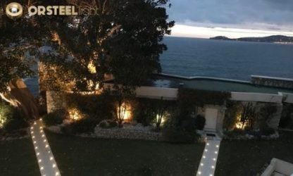 Découvrez une de nos mises en lumière : l'hôtel du Cap Estel