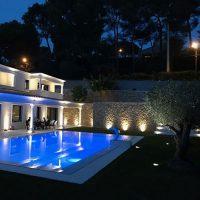 Cote azur private villa icone led spot