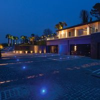 Nanolight led lighting, private villa