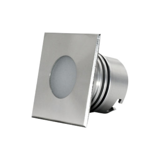Square stainless steel icone projector