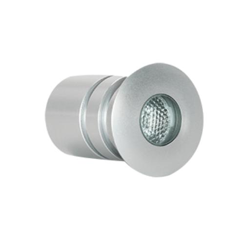 Projecteur Microlight rond en aluminium