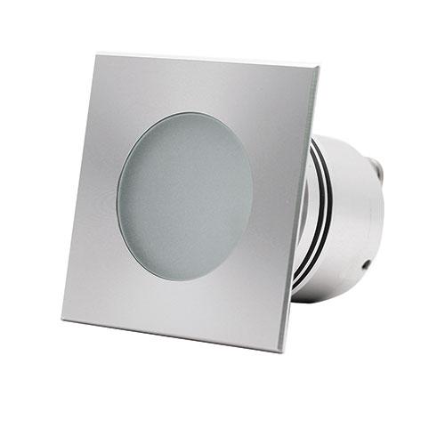 Gaia aluminium embeddable led spot