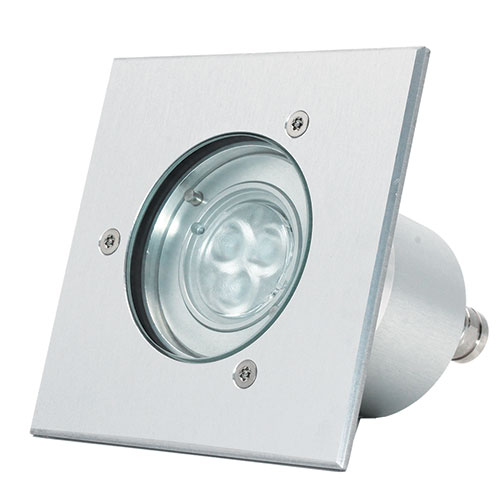 Prima square embeddable led spot
