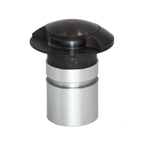 UFO black embbeddable light for staircases or ground lighting