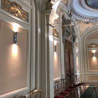 pilas spot mural led intérieur