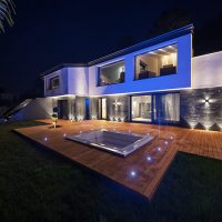 Private architect-designed villa with Tchitchou LED lighting