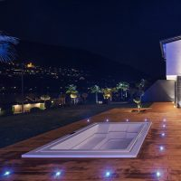 Private architect-designed villa with Tchitchou LED spot