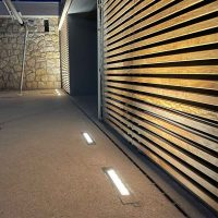 GALERNE embeddable light spot for outdoor spaces and walls