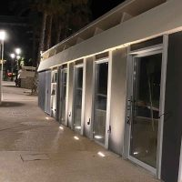 GALERNE embeddable led lighting spot for walls and roof