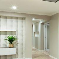 projecteur encastré plafond couloir orion
