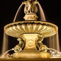 projecteur aquatique balliste fontaine