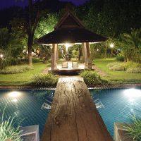 orphie martinique éclairage piscine