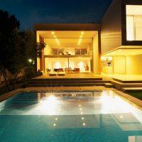 spot immergé piscine maison younes