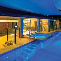 Spot immergé hippocampe pour bassins et piscines