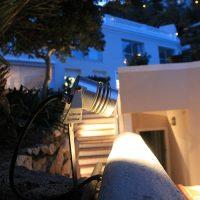 spot lyre led minilight paysage jardin