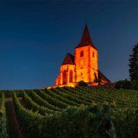 spot sur lyre MYLAN éclairage église vigne