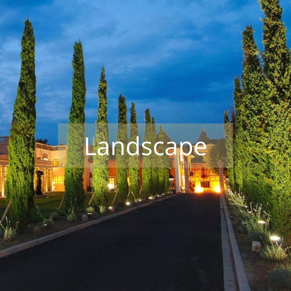 Enjoy top of the range landscape lighting