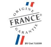 ORSTEEL Light is certified Origin France Guarantee BV Cert. 7110599