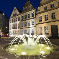 Balliste aquatic fountain projector