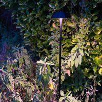 projecteur borne led chanterelle top jardin