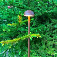 projecteur borne led chanterelle mini jardin