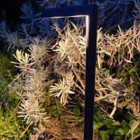 Projecteur led paysager ekera de nuit
