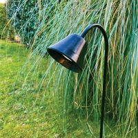 RINGO TULIPA black shaft mounted projector for gardens and landscapes